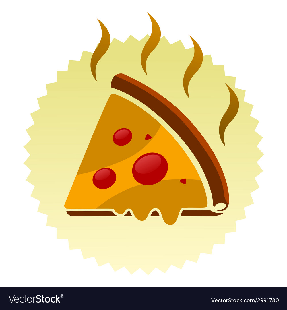 Pizza sign vector | Price: 1 Credit (USD $1)