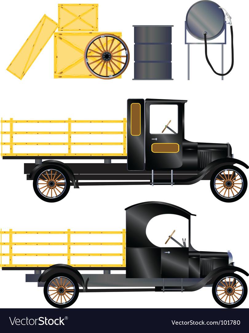 Work truck vector | Price: 1 Credit (USD $1)