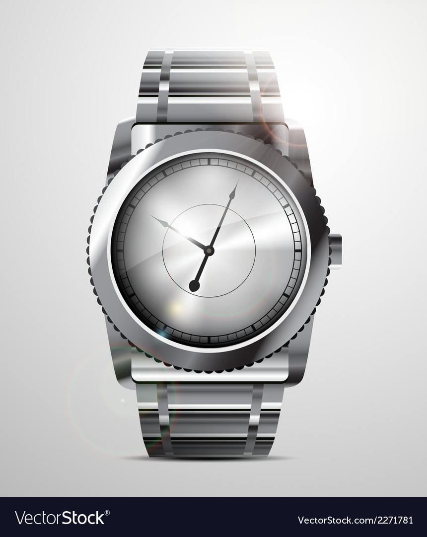 Fancy watch vector | Price: 1 Credit (USD $1)