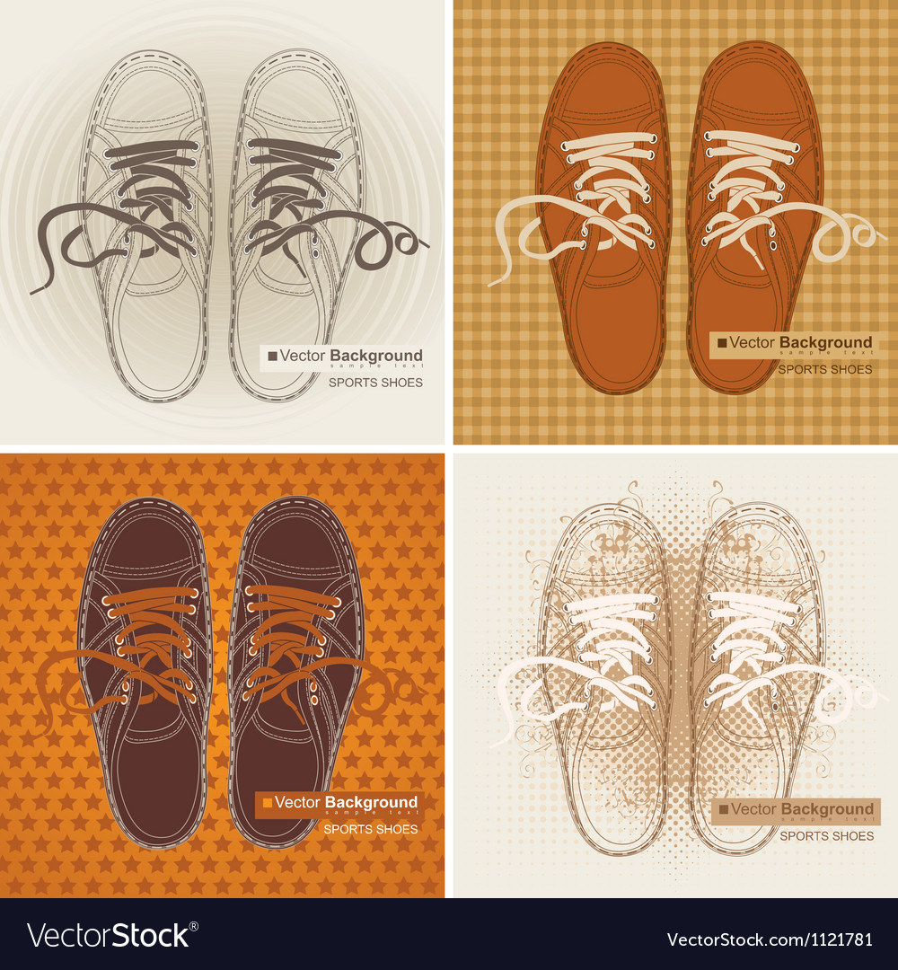 Sports sneakers vector   Price: 1 Credit (USD $1)