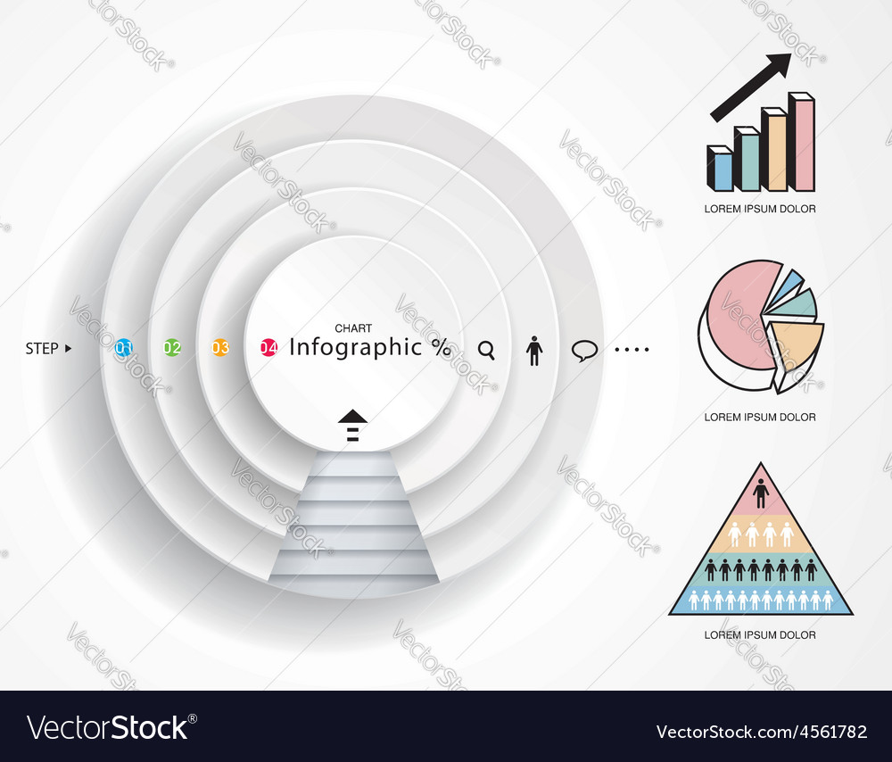 Infographics diagram vector | Price: 1 Credit (USD $1)