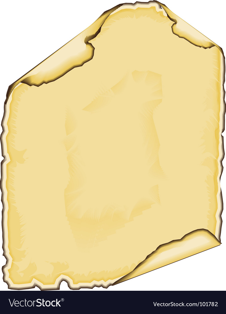 Parchment edge vector | Price: 1 Credit (USD $1)