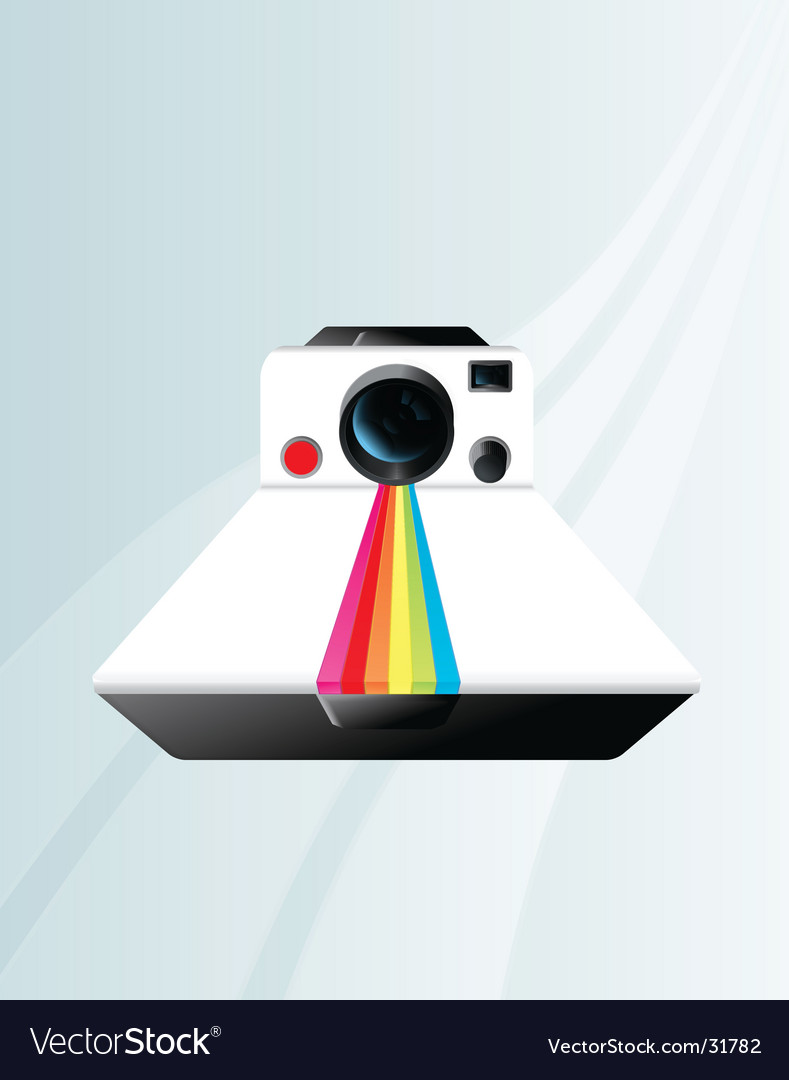 Polaroid camera vector | Price: 1 Credit (USD $1)