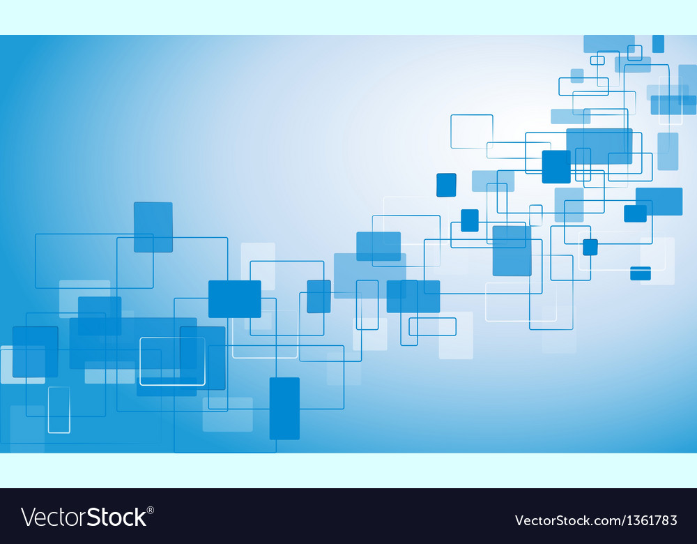 Blue background with rectangles vector   Price: 1 Credit (USD $1)