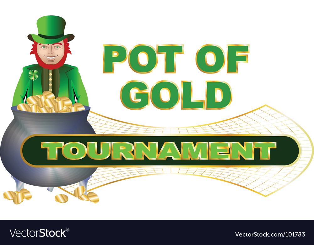 Pot of gold vector   Price: 1 Credit (USD $1)