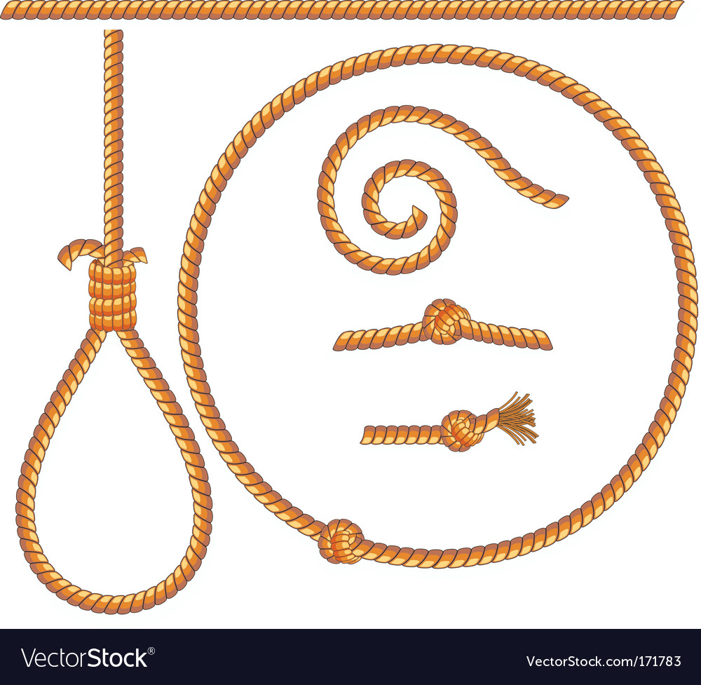 Ropes vector | Price: 1 Credit (USD $1)