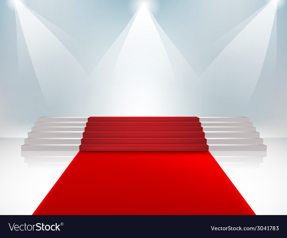 Velvet staircase3 vector | Price: 1 Credit (USD $1)