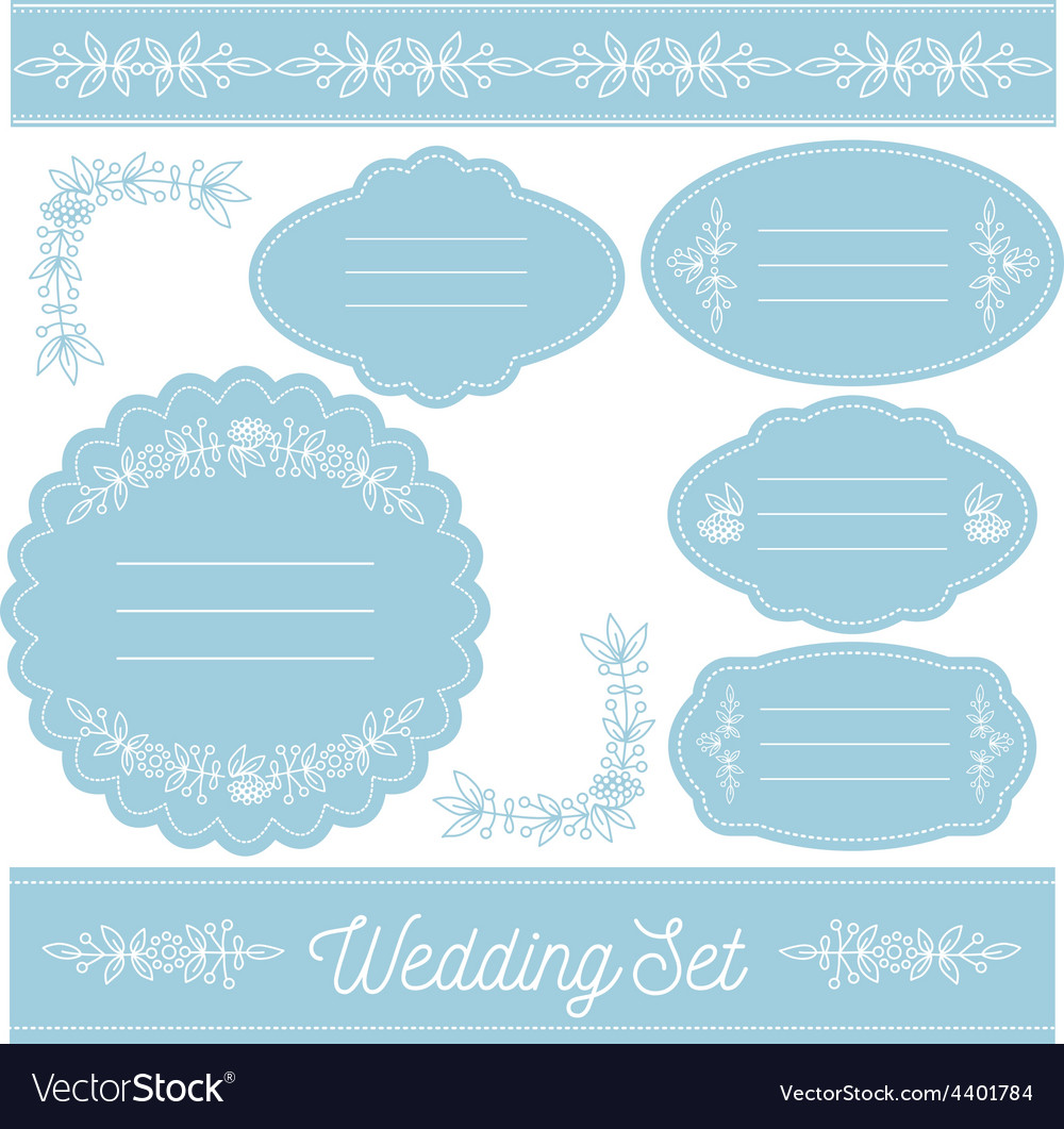 Wedding-set-3 vector | Price: 1 Credit (USD $1)