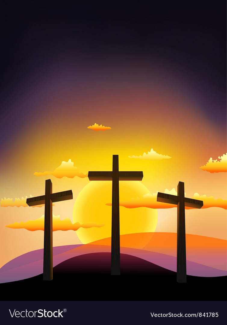 Crucifix vector | Price: 1 Credit (USD $1)