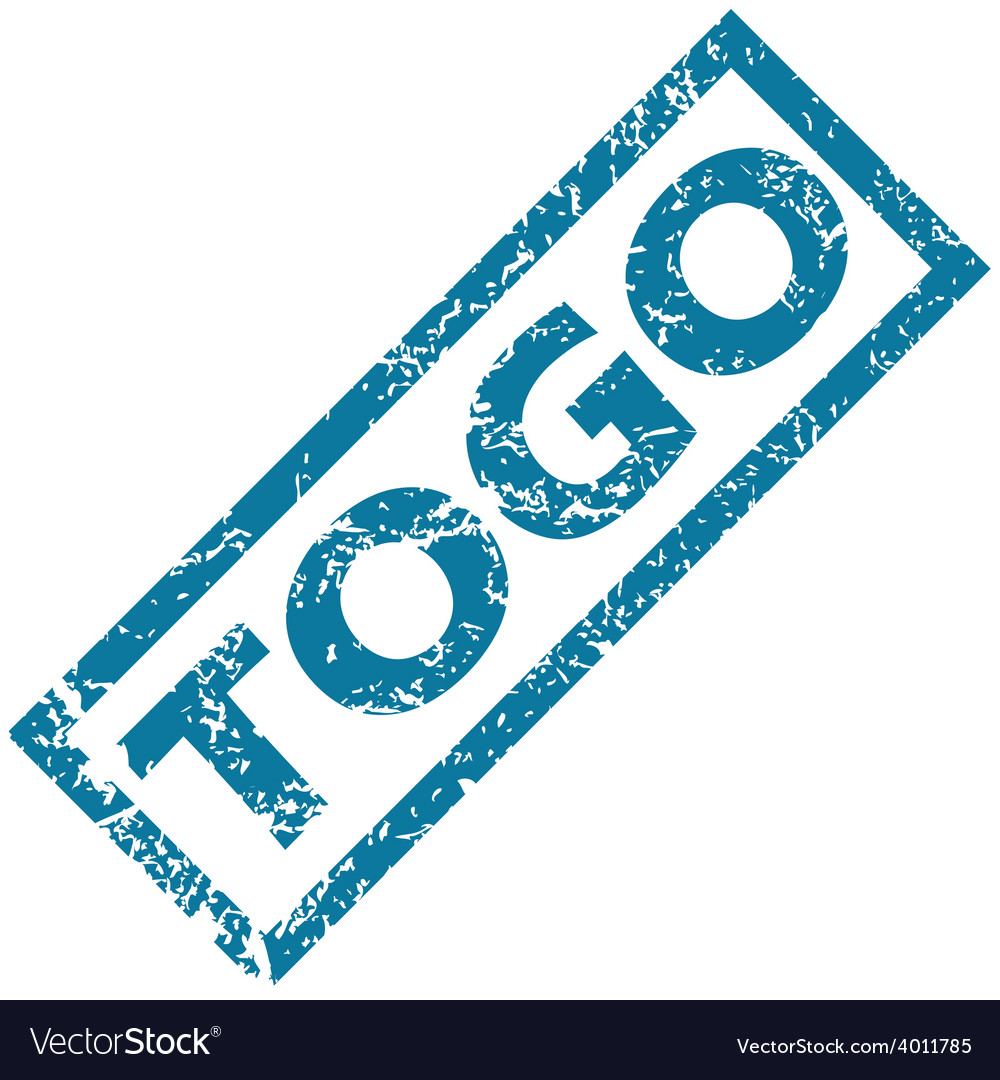 Togo rubber stamp vector | Price: 1 Credit (USD $1)