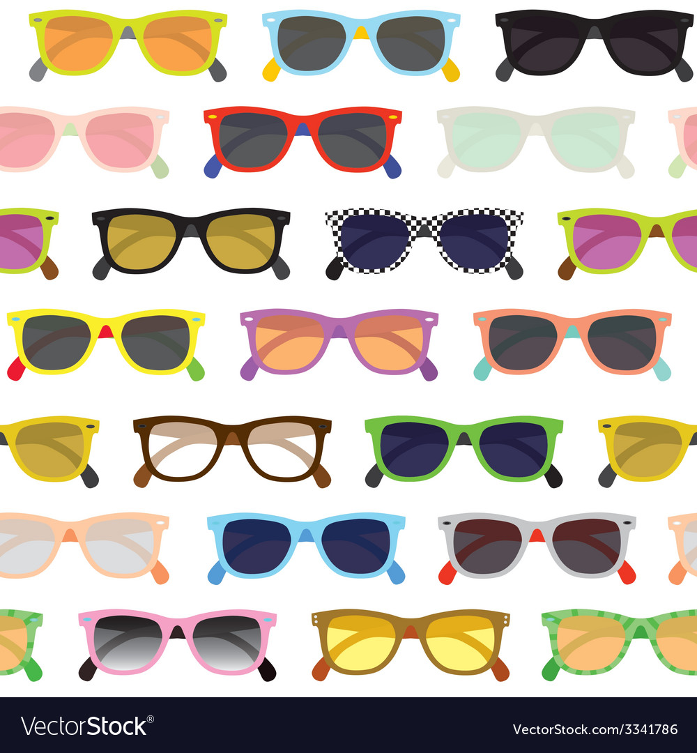 Hipster sunglasses background vector   Price: 1 Credit (USD $1)