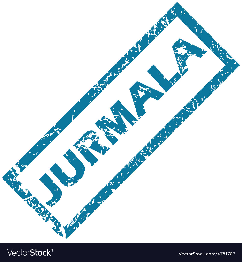 Jurmala rubber stamp vector | Price: 1 Credit (USD $1)