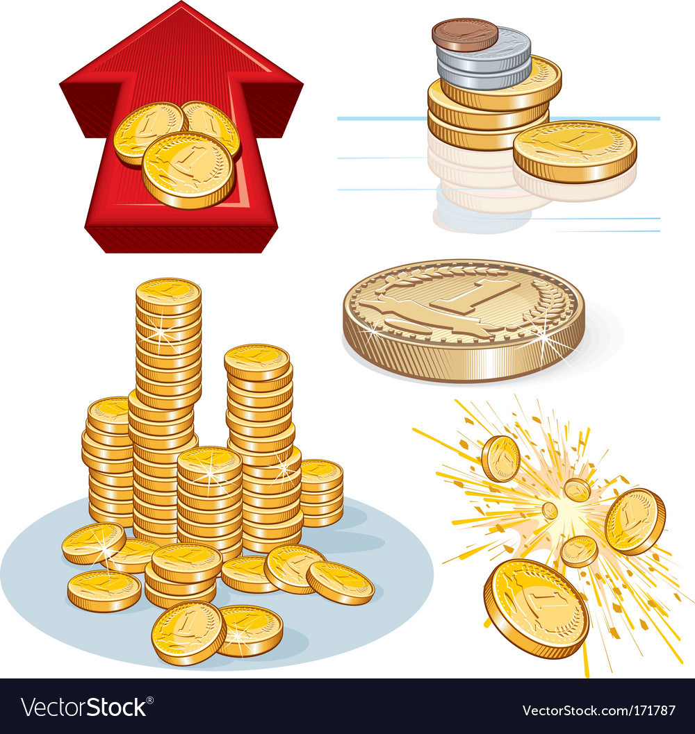 Money icons vector | Price: 3 Credit (USD $3)