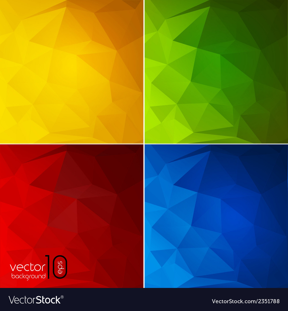 Abstract color geometric background vector | Price: 1 Credit (USD $1)