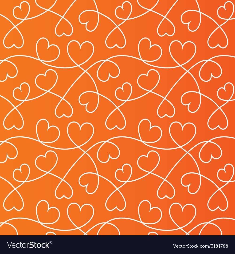 Hearts lines background love wallpaper vector | Price: 1 Credit (USD $1)