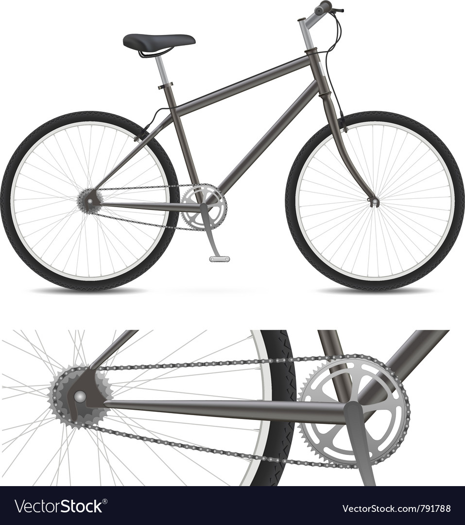 Simple bike vector | Price: 1 Credit (USD $1)