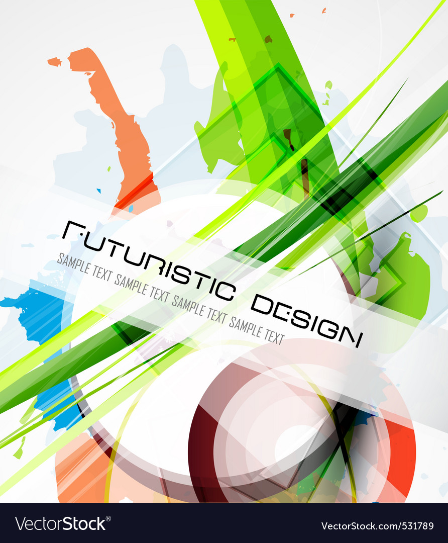 Futuristic design vector | Price: 1 Credit (USD $1)