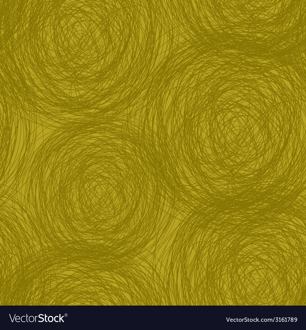 Green yellow scribble seamless pattern vector | Price: 1 Credit (USD $1)