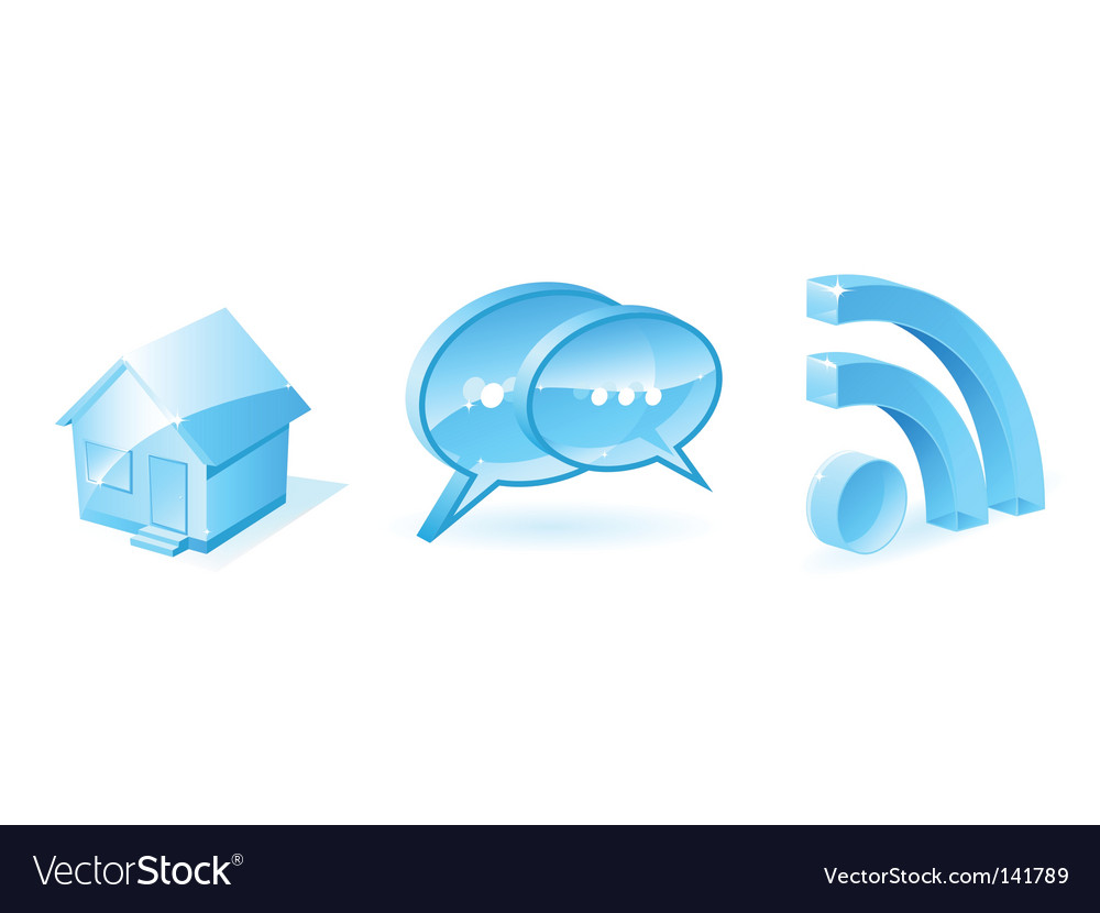 Internet icons vector   Price: 1 Credit (USD $1)