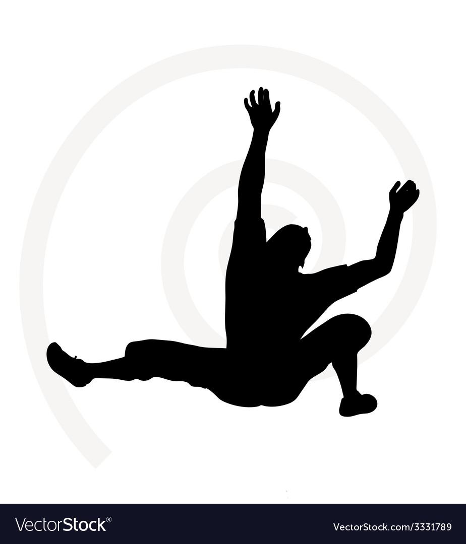 Senior climber man vector | Price: 1 Credit (USD $1)