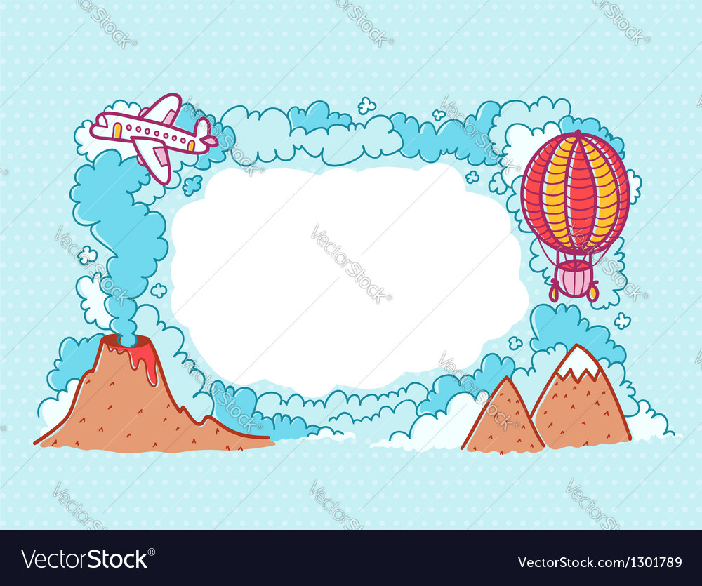 Up in the sky vector | Price: 3 Credit (USD $3)