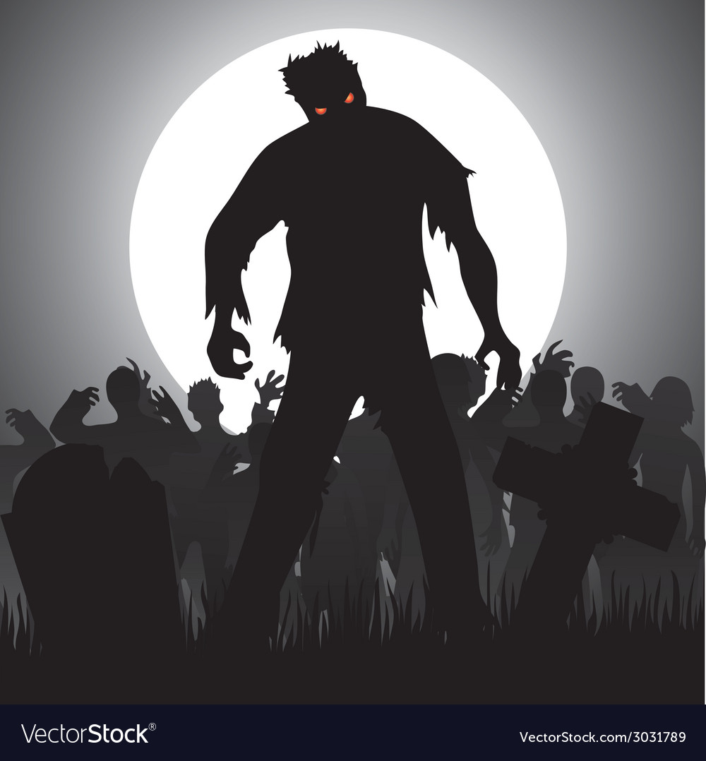 Zombies vector | Price: 1 Credit (USD $1)