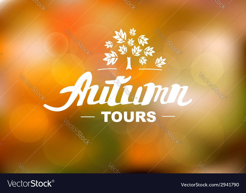 Best autumn holidays - hand drawn lettering vector | Price: 1 Credit (USD $1)