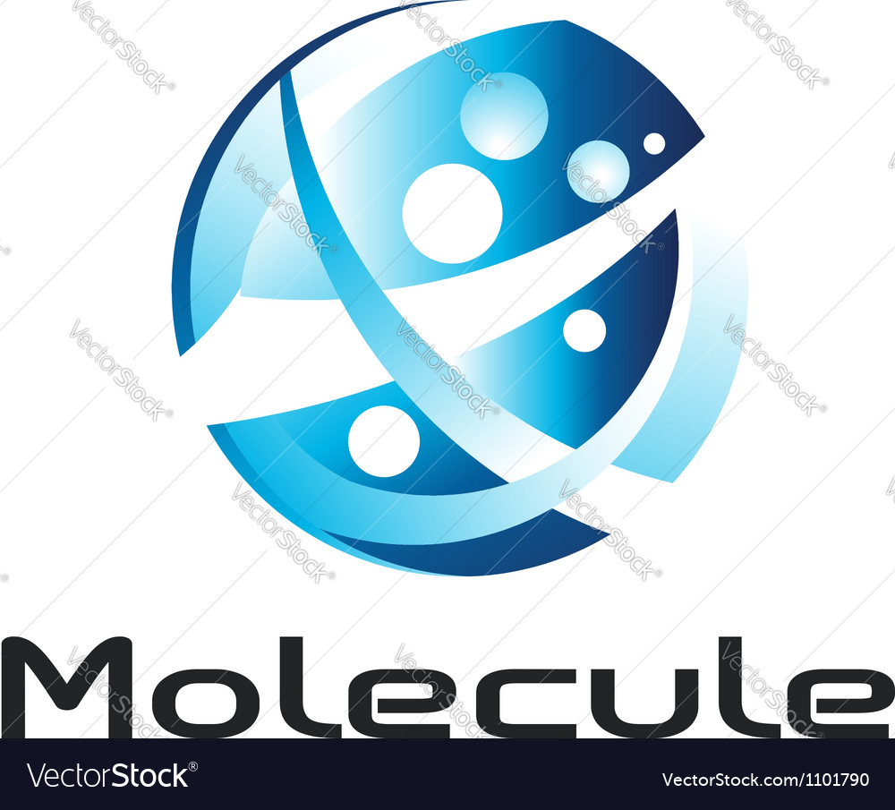 Molecule logo vector | Price: 1 Credit (USD $1)