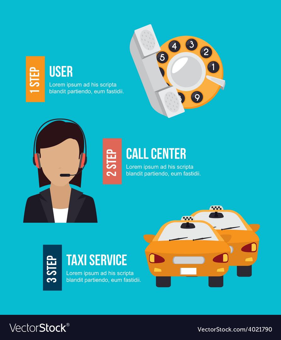 Taxi design vector | Price: 1 Credit (USD $1)