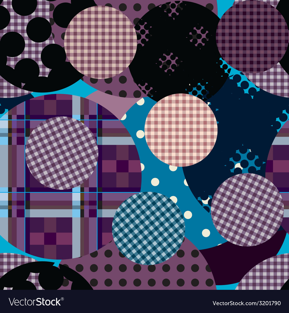 Violet circles collage vector | Price: 1 Credit (USD $1)