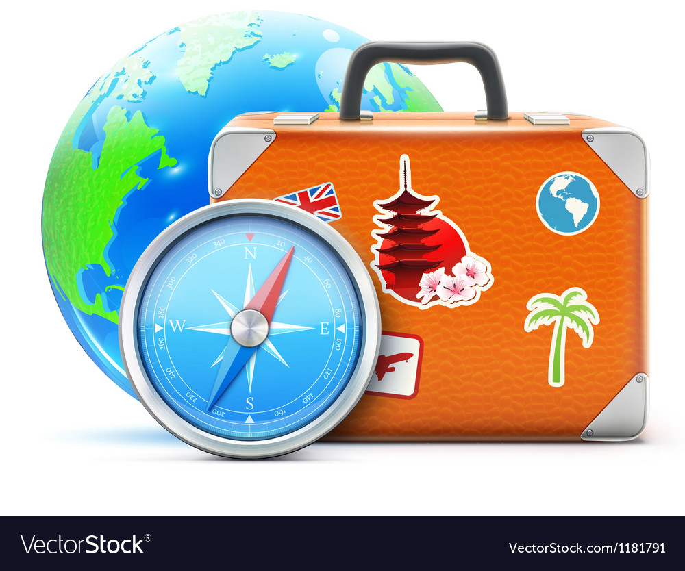 Travel concept vector | Price: 3 Credit (USD $3)