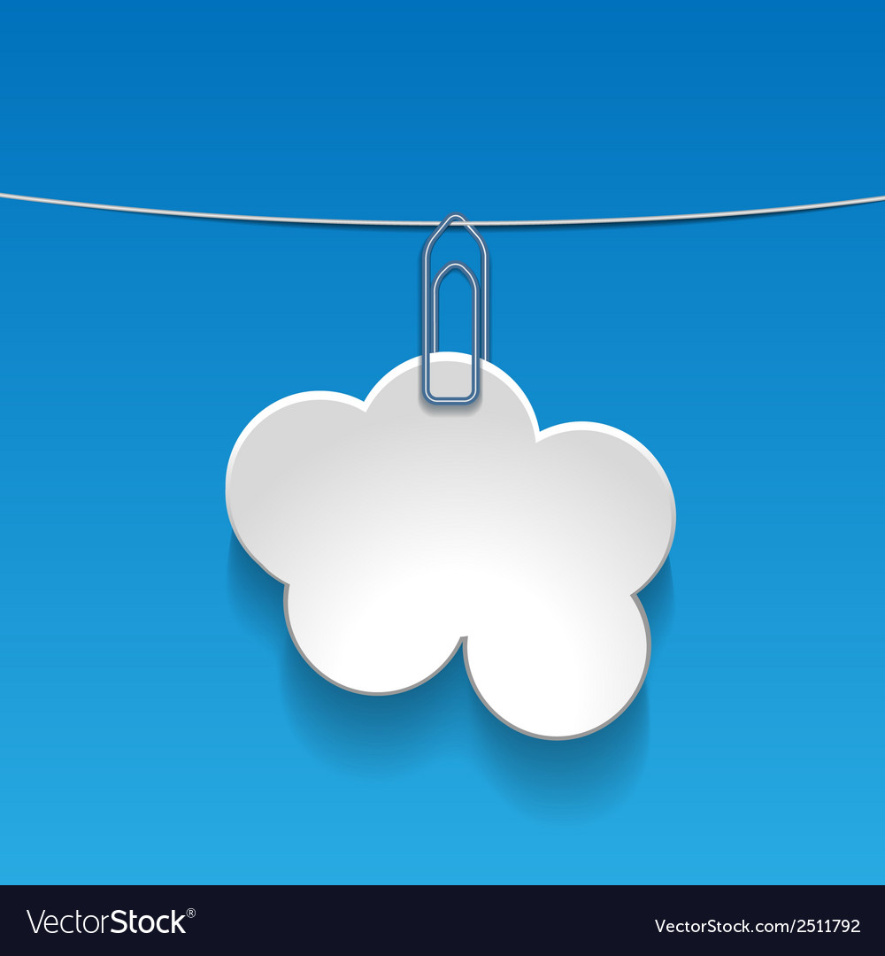 Cloudlabel vector | Price: 1 Credit (USD $1)