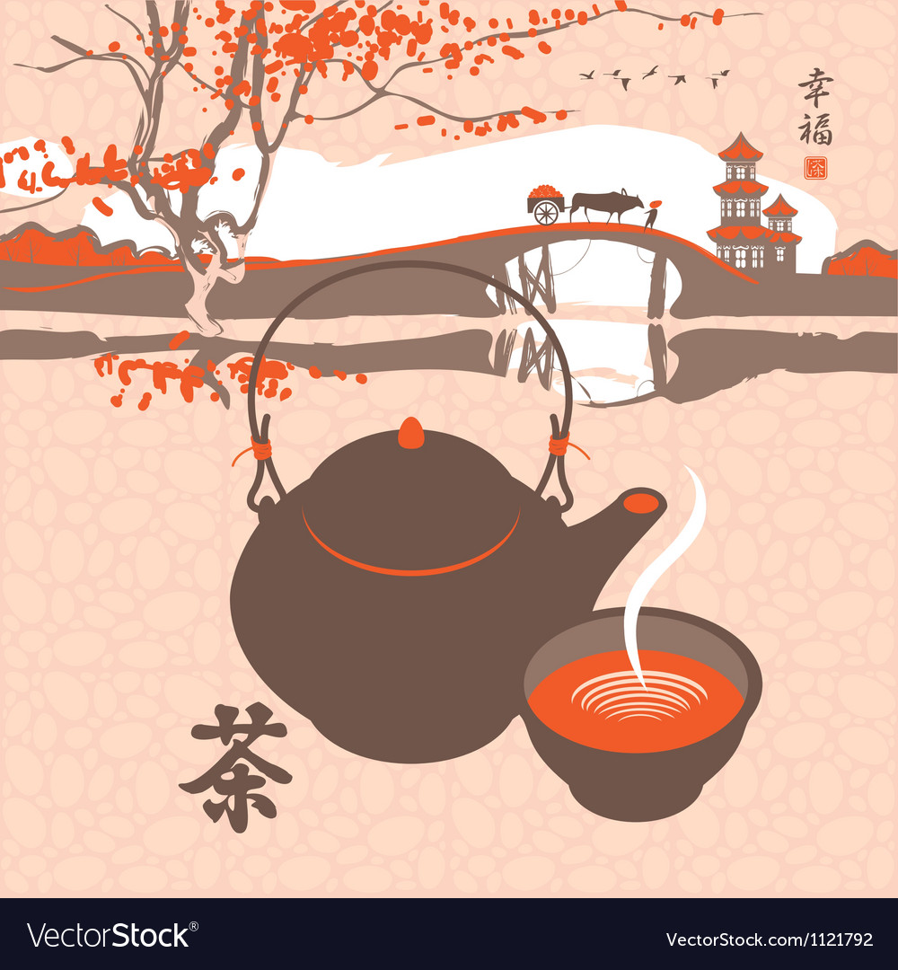 Kettle the scenery vector | Price: 1 Credit (USD $1)