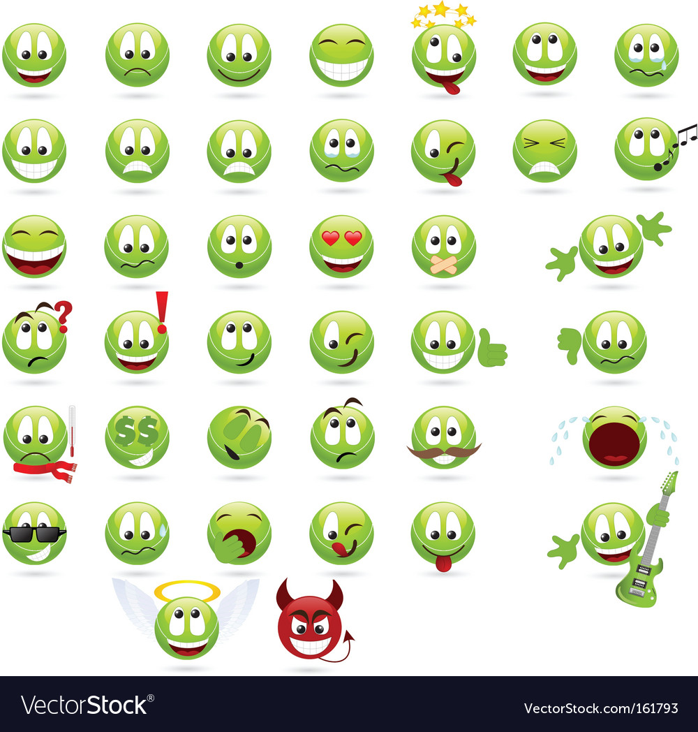 Smiles vector | Price: 1 Credit (USD $1)