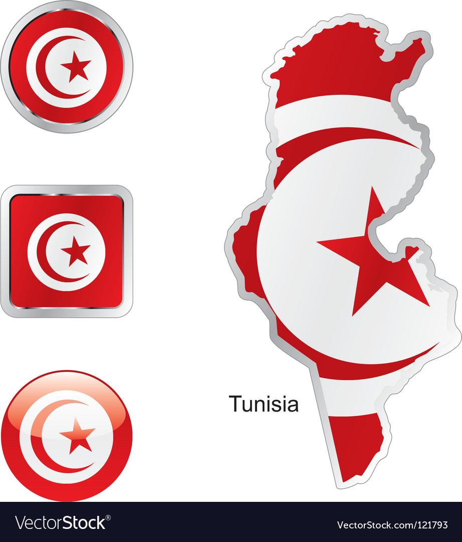 Tunisia vector | Price: 1 Credit (USD $1)