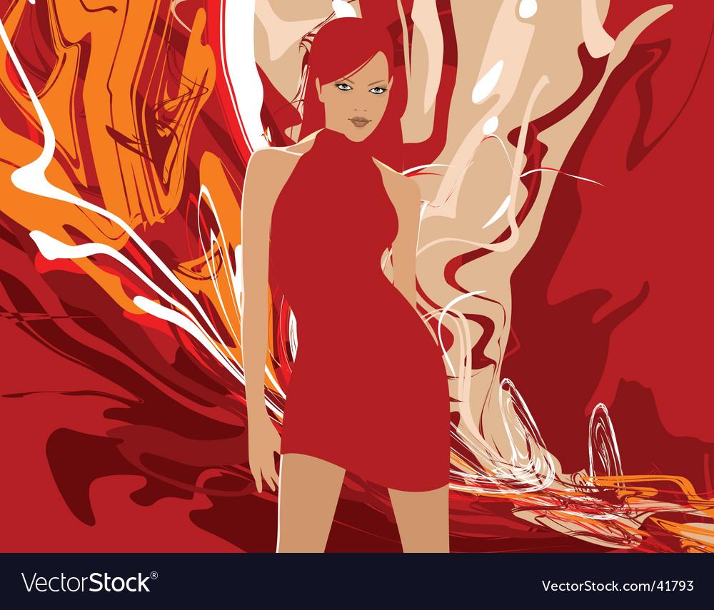 Woman vector | Price: 3 Credit (USD $3)