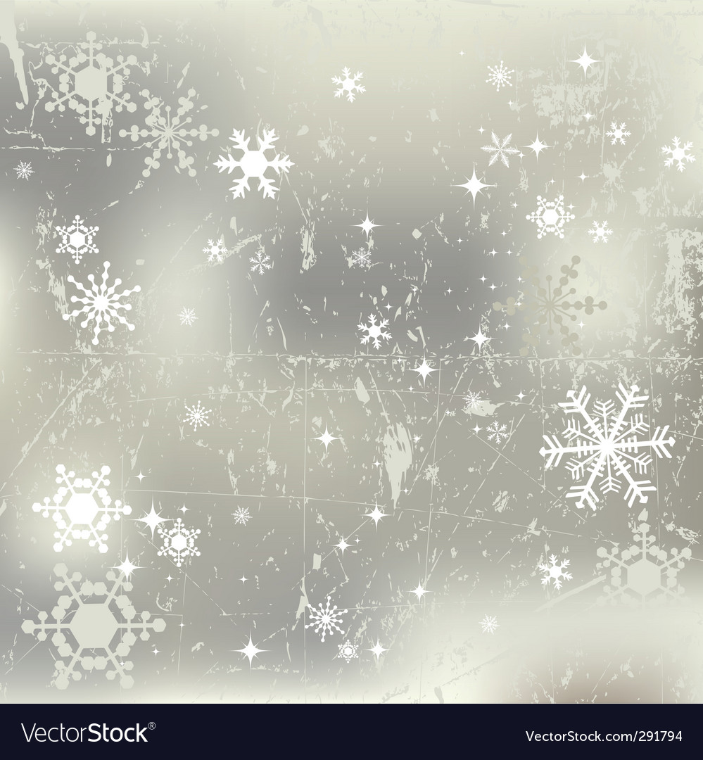 Winter background snowflakes illustration vector | Price: 1 Credit (USD $1)