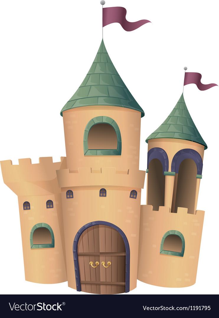 A castle vector | Price: 1 Credit (USD $1)