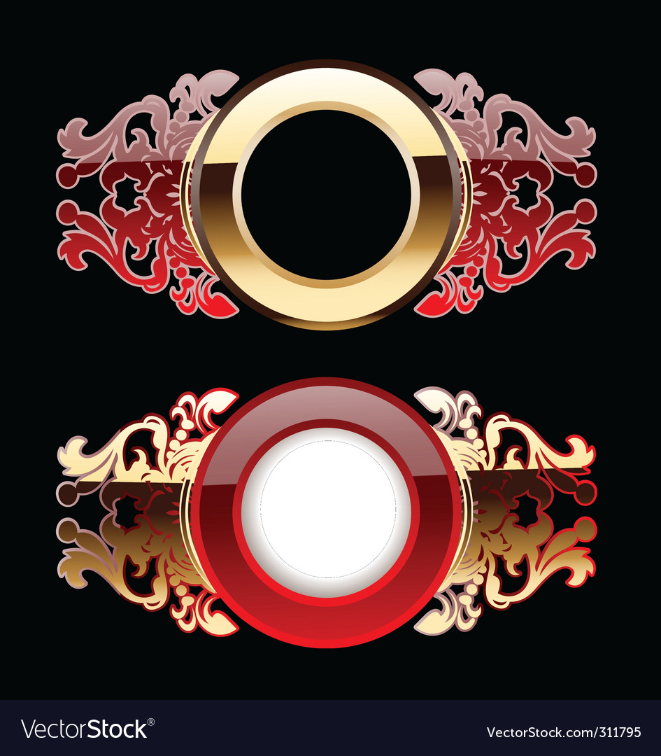 Ornate rings vector | Price: 1 Credit (USD $1)
