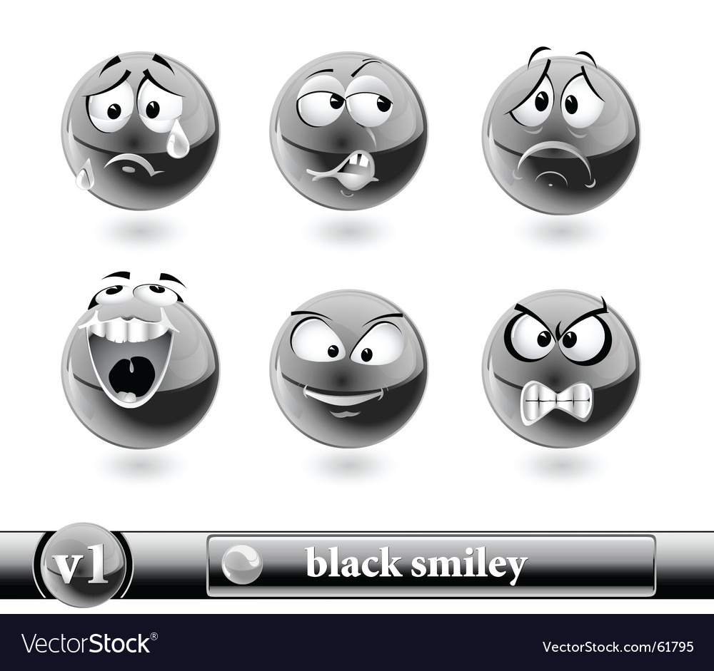 Smiley vector | Price: 3 Credit (USD $3)