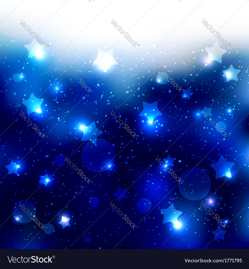 Sparkling blue star celebration background vector | Price: 1 Credit (USD $1)