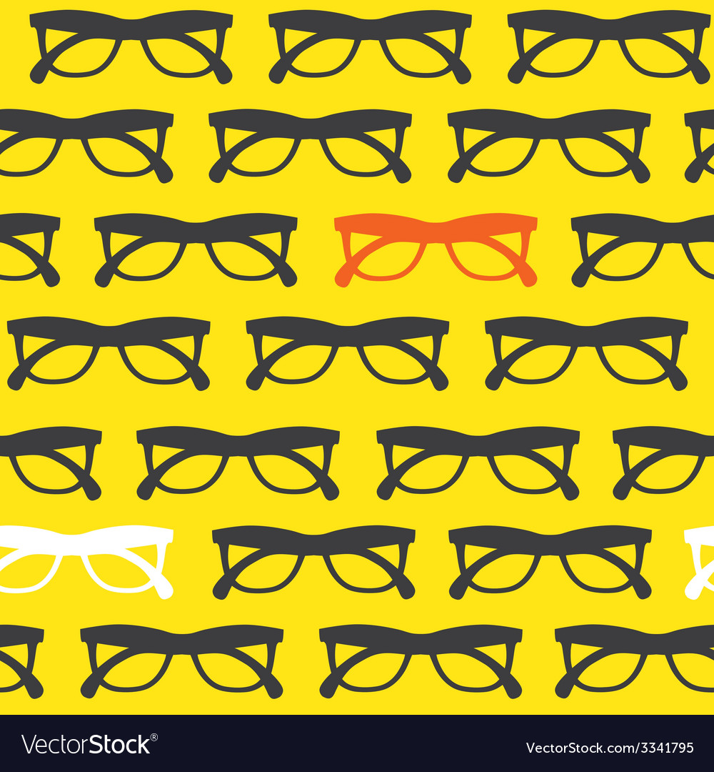 Yellow sunglasses background vector | Price: 1 Credit (USD $1)