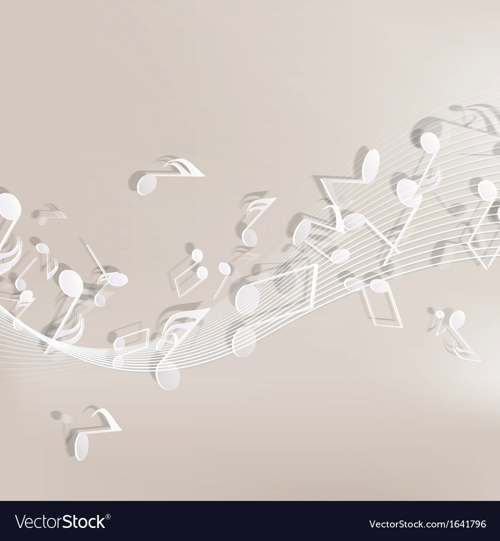Abstract musical background vector | Price: 1 Credit (USD $1)