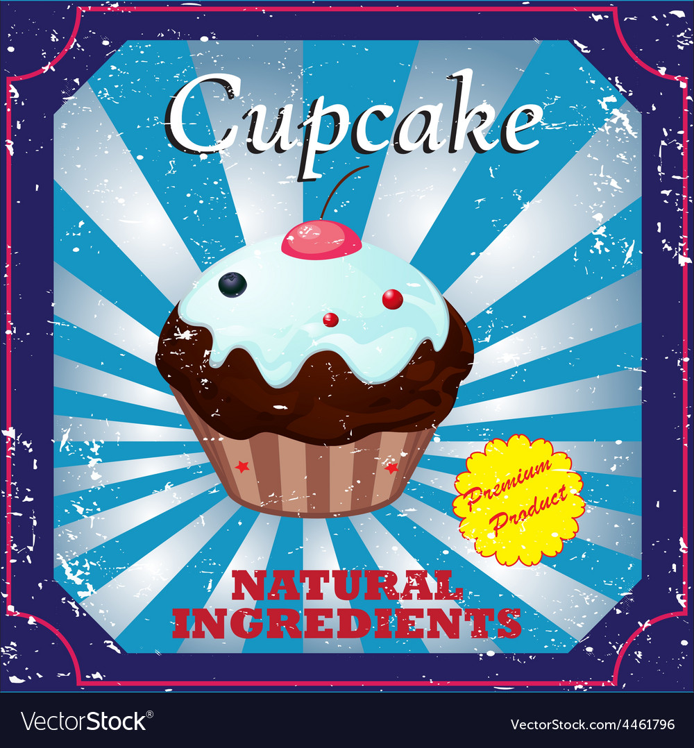 Cakes label vector | Price: 1 Credit (USD $1)