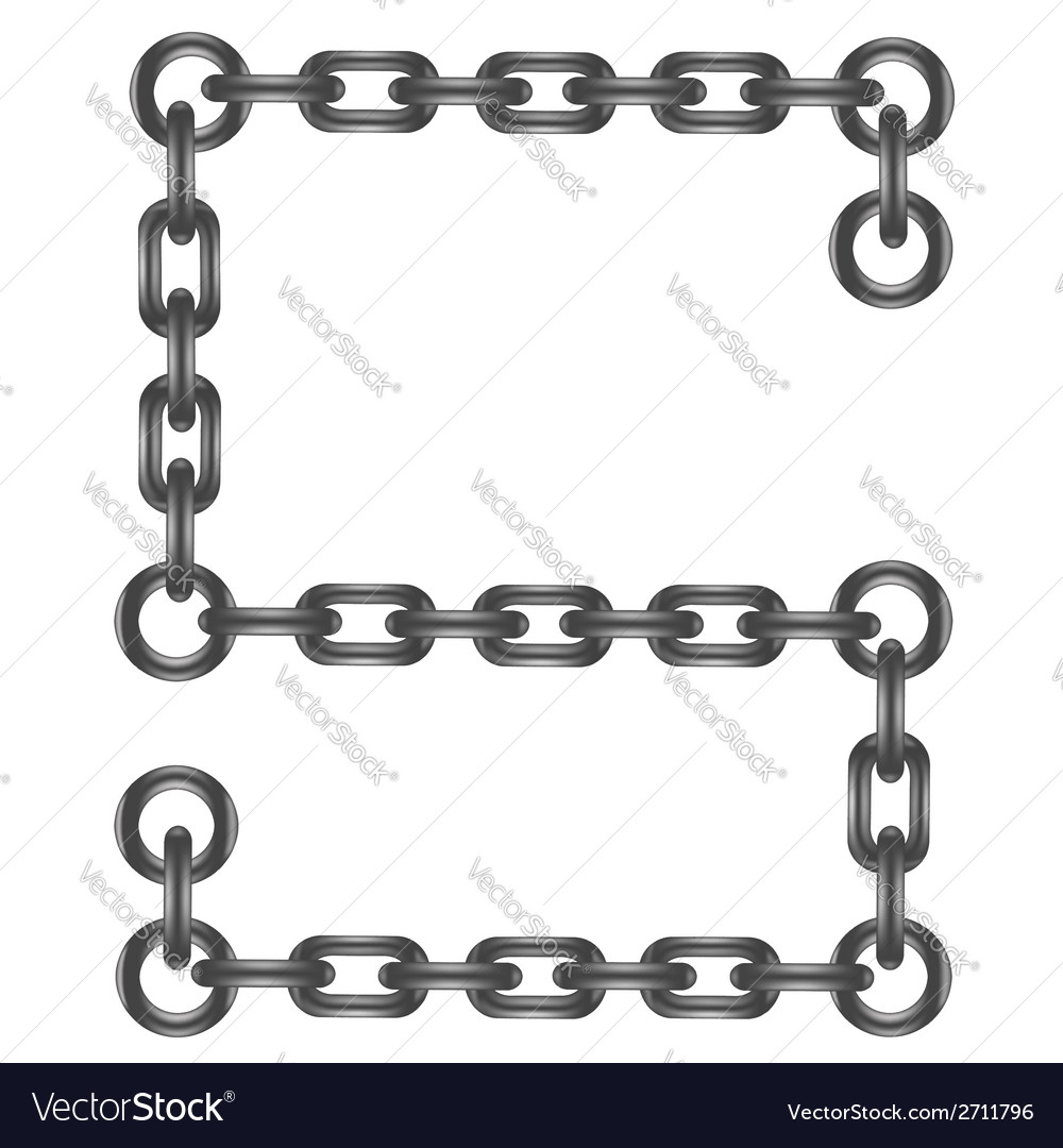 Chain letter s vector | Price: 1 Credit (USD $1)