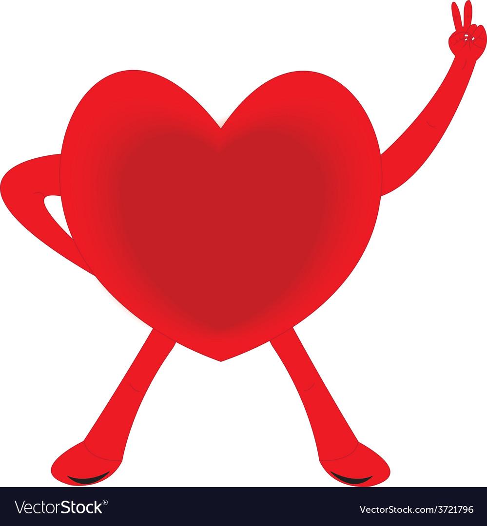 Healthy heart vector   Price: 1 Credit (USD $1)