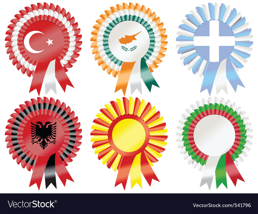 Rosettes southern european vector | Price: 1 Credit (USD $1)