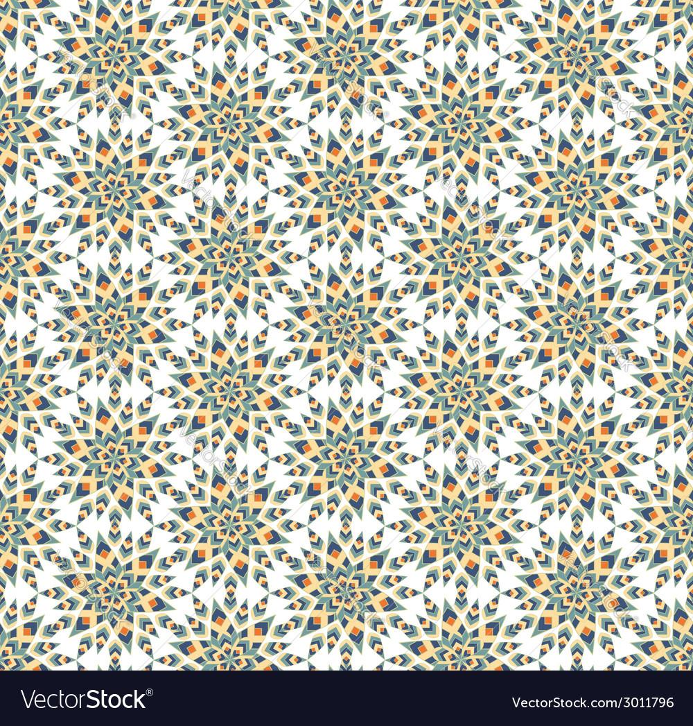 Seamless geometric radial pattern vector | Price: 1 Credit (USD $1)