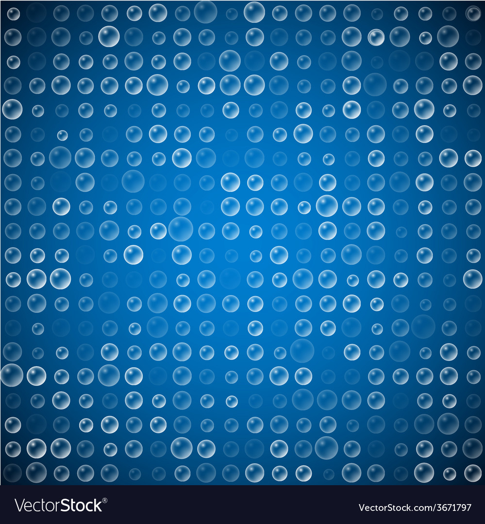 Abstract bubble pattern vector | Price: 1 Credit (USD $1)
