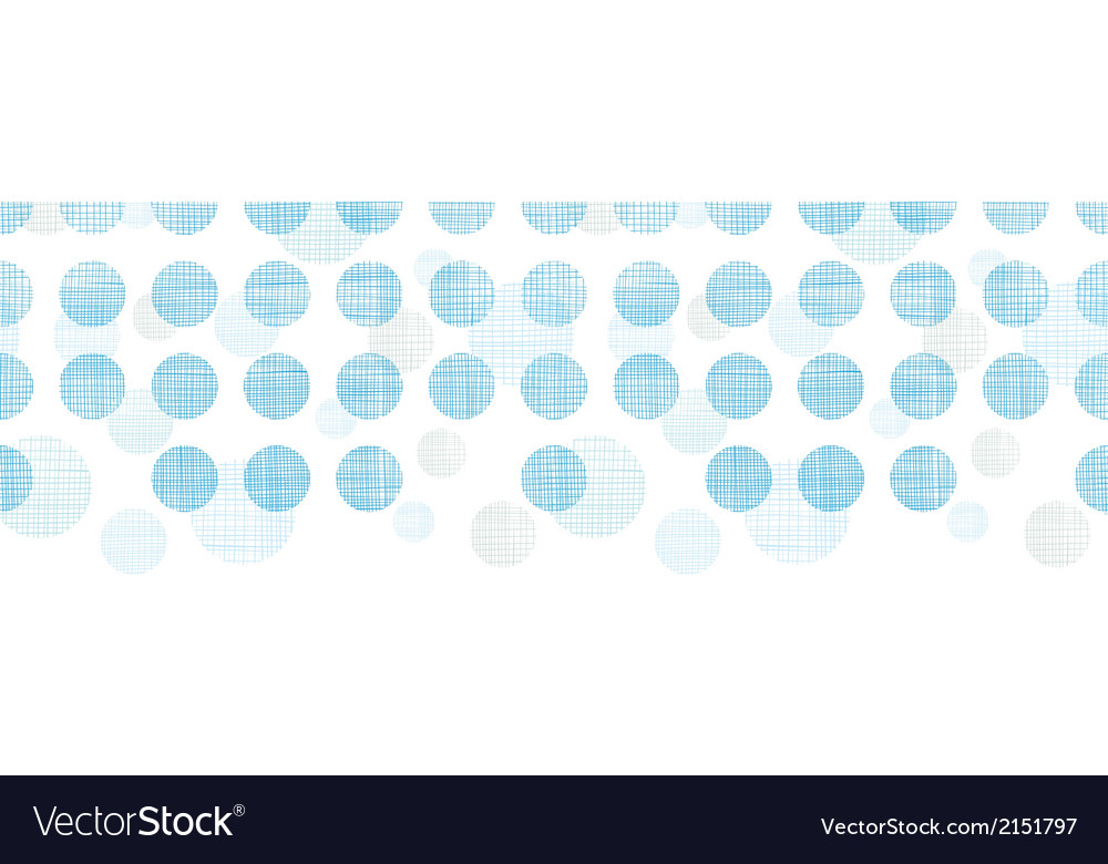 Abstract textile blue polka dots stripes vector | Price: 1 Credit (USD $1)
